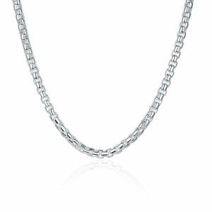 Jewelry - Women's Elegant Silver Plated Plain Chain
